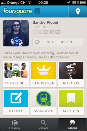 foursquare 5.0 User