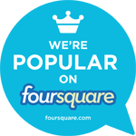 Foursquare popular cling