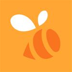 swarm bee logo 4sqblog